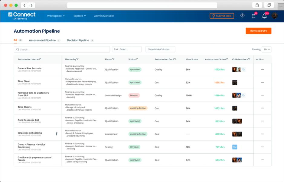 Connect Enterprise screenshot